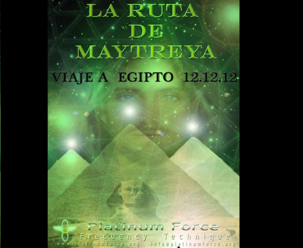 Ruta de Maytreya: Egipto 12-12-12