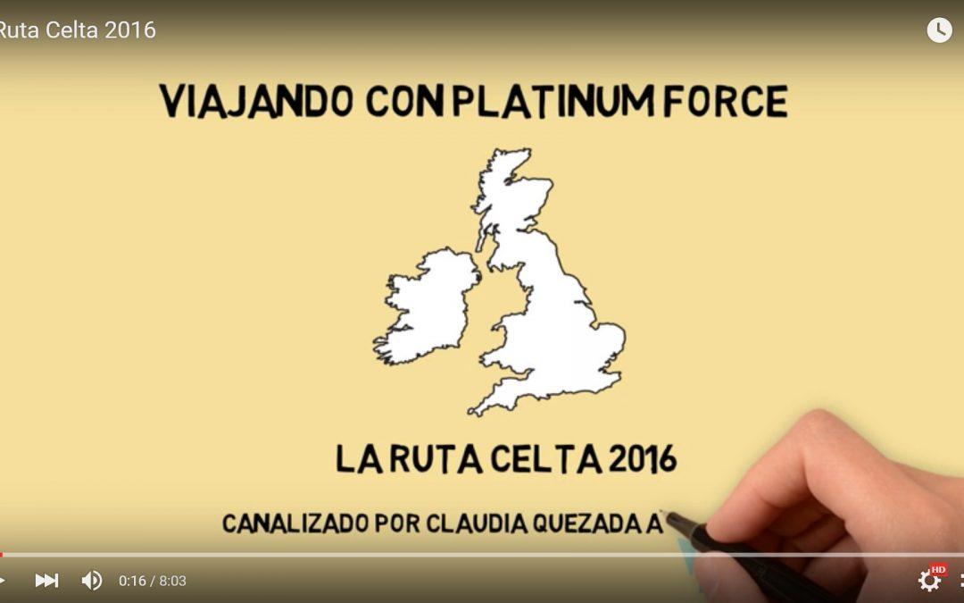 "La Ruta Celta 2016 "" ITINERARIO"""