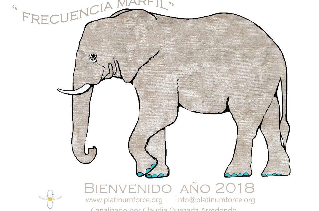 """Bienvenido año 2018 """"Frecuencias Marfil"""""""
