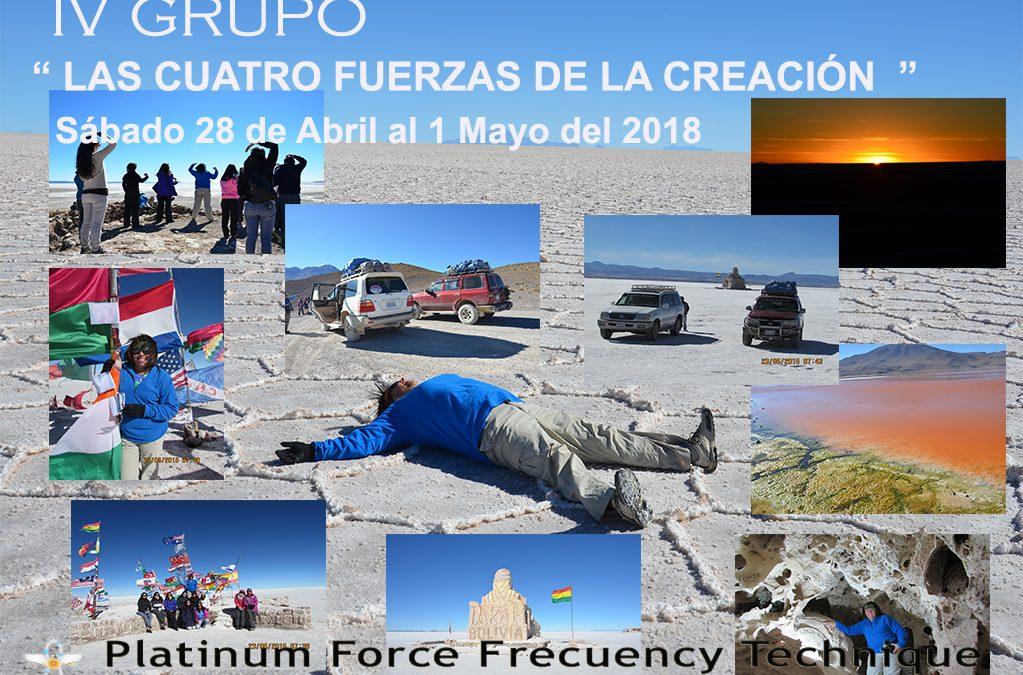 """IV GRUPO UYUNI 2018 """" LAS CUATRO FUERZAS DE LA CREACIÓN"""""""