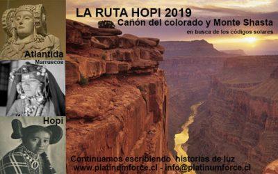 La Ruta Hopi 2019 . Cañón del Colorado y Monte Shasta.